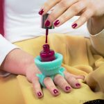 Tweexy Wearable Nail Polish Holder makes life so much more convenient