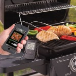 The Smartphone Alerting Barbecue Thermometer lets you do something else while waiting