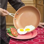 Scratchproof Nonstick Pan Set makes cooking easy