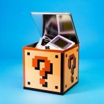 Question Block Storage Tin is a must for all Mario fans