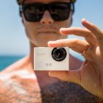 Sioeye Iris4G Blink Edition action camera features integrated 4G live streaming capability