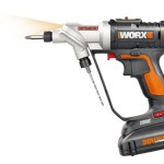 The WORX Switch Drill cuts down on time changing out tools