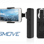 The SMOVE is a smartphone stabilizer and power bank