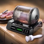 This Meat Vacuum Marinator will make complex meals a breeze to prepare