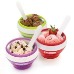 The Zoku Ice Cream Maker Bowl makes perfectly portioned ice cream