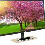 AOC 27-inch PLS Monitor sports Qi Wireless Charging Base
