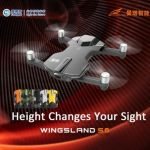 Cnlight.Wingsland S6 is a 4K Pocket Drone