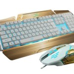 The Bluefinger LED Keyboard and Mouse Set – pretty doesn't have to come at a price