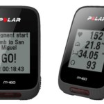 Polar M460 bike computer comes with GPS capability