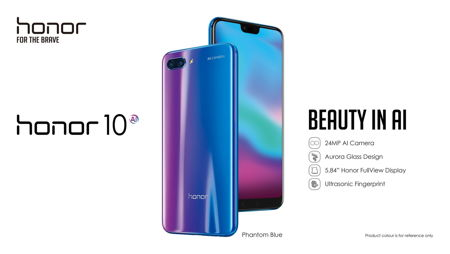 - honor 10 - Huawei Honor 10 hits the market with stunning design » Coolest Gadgets