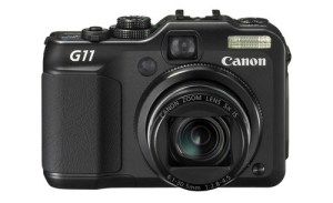 The Canon G11 sports a 5x optical zoom that's 2 stops faster than the G10.