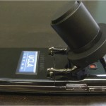 Engineer builds a microscope with $10 in parts and a cellphone