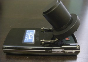 This digital microscope made from a cellphone and $10 in parts could revolutionize bush medicine.