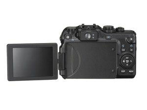 The Canon G11 sports a new viable angle LCD screen.