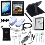 15-Item Accessory Bundle for Apple iPad