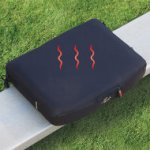 The Heated Stadium Seat keeps you warm on fall days