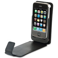 iPhone Charging Leather Case