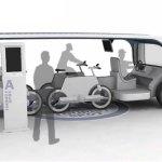 Tour bus has detachable bikes
