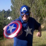 Hasbro has Captain America merchandise, too