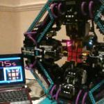 CubeStormer solves Rubik's Cubes in ten seconds