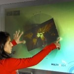 DISPLAX: The touchscreen wallpaper of the future