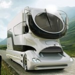 The eleMMent RV is luxury in a sexy odd shape