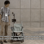 Robotic Wheelchair to Follow You