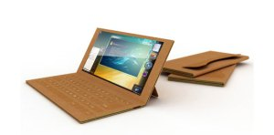 Recyclable laptops made of paper could be popular in the future, and good for the environment.