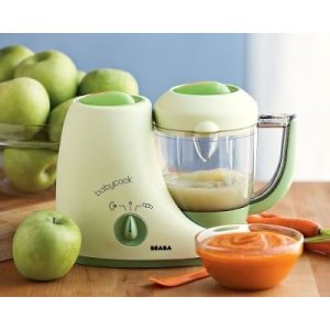 Beaba Babycook is a baby sized food processor for making your own baby food.