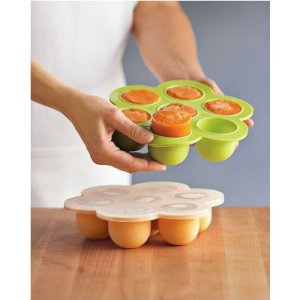 The multi portion food tray is great for making meals ahead of time.