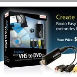 Roxio makes VHS to DVD conversion a snap