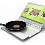 Electrolux concept laptop is also a stove