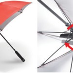 Fanbrella shields you from sun and rain and more