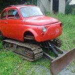 Fiat Cinque Tank custom-built bulldozer