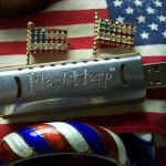 2GB FlashHarp Playable Harmonica USB flash drive