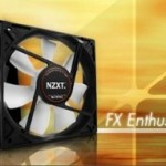 NZXT FX Fan series for a quieter gaming experience