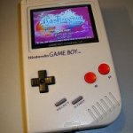 Modified Game Boy does GBA games