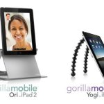 Joby unveils GorillaMobile Ori and GorillaMobile Yogi for iPad 2