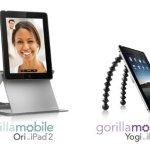 Joby unveils GorillaMobile Ori and GorillaMobile Yogi for iPad 2