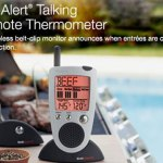 The Grill Alert Talking Remote Meat Thermometer