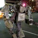 This is the greatest robot costume, ever!