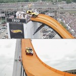 Team Hot Wheels Life-sized track breaks world record