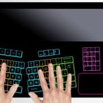 Fujitsu's Touchpad keyboard concept