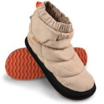 Lady's Rechargeable Heated Slippers