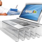 Laptop Lilo keeps your family jewels cool