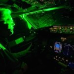 Laser pointers at aircraft are becoming a growing hazard