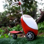 Make mowing fun with this Lawn Mower Scooter