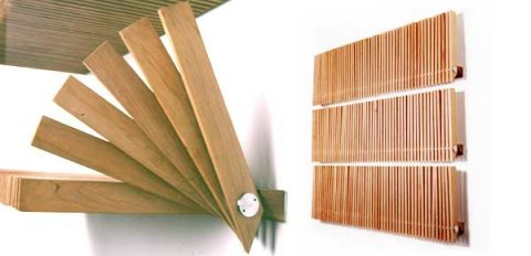 Folding shelfs