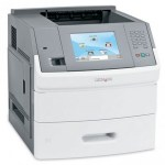 Lexmark T656dne monochrome laser printer