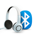 Logitech Wireless Headset syncs with Bluetooth